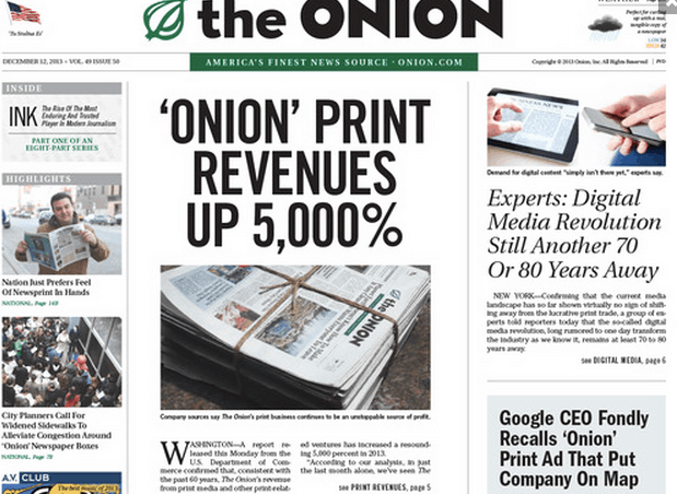 Culture Newspaper Satire The Onion Culture Archives Relevant