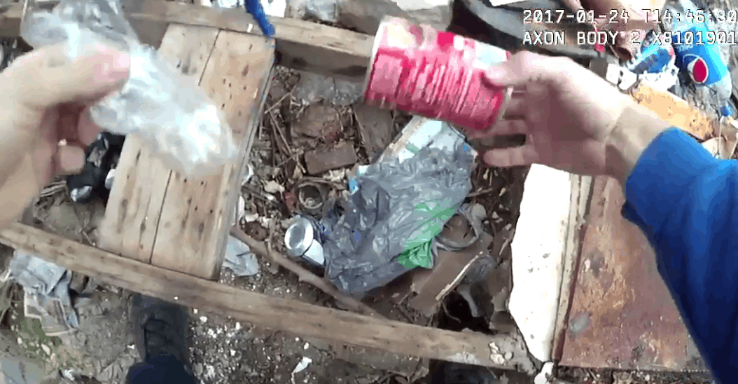 Body Cam Footage Appears to Show Police Planting Drugs in