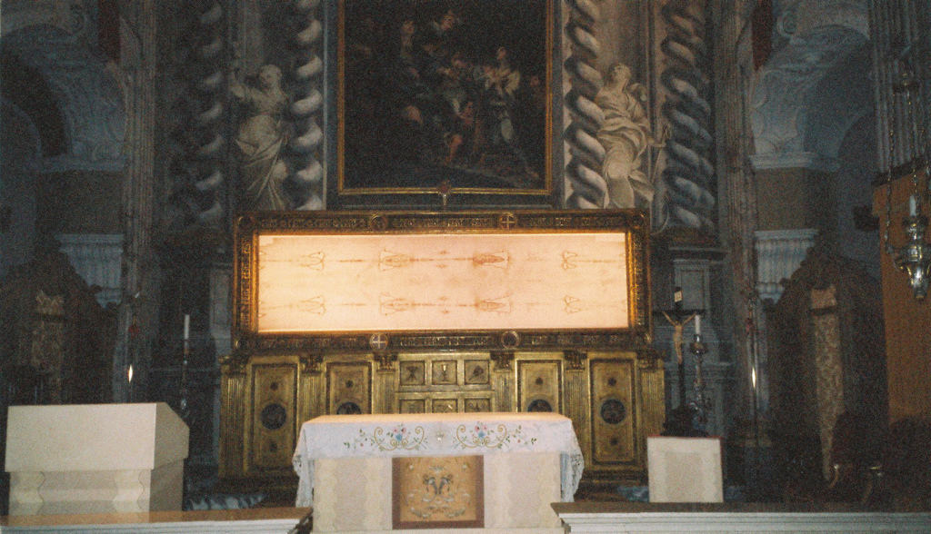 So, Apparently, the Shroud of Turin Is 'Stained With Blood From a