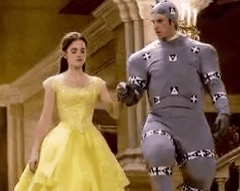 These Videos of 'Beauty and the Beast' Without CGI Are