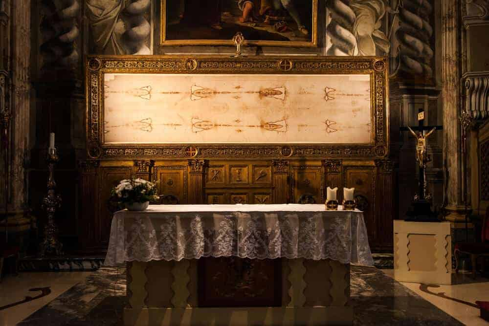 Study: Bloodstains Now Suggest the Shroud of Turin Is Fake