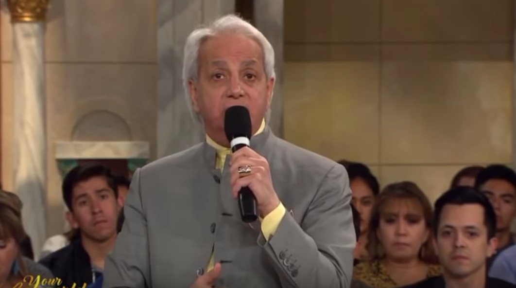 Image result for images of Benny Hinn
