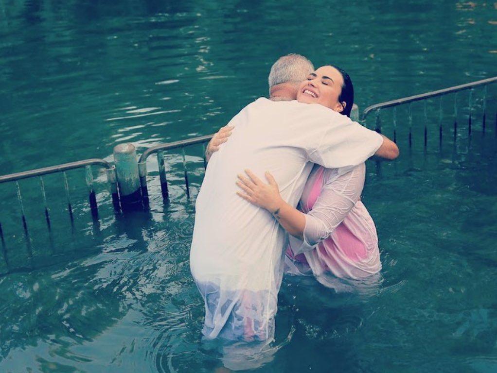Demi Lovato on Getting Baptized in Israel: I've Never Felt More Renewed