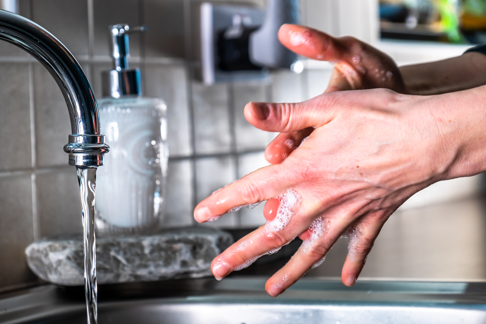 Give Us Clean Hands: How Long to Wash Your Hands to Classic Christian Songs